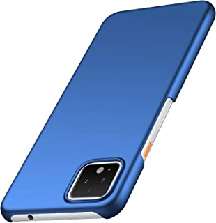 Avalri Compatible for Google Pixel 4 Case, Minimalistic Ultra Thin Hard Case PC Material Slim Protection Cover for Google Pixel 4 (Smooth Blue)