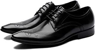 Breathable Business Casual Oxford Shoes Formal Shoes (Color : Black, Size : 41)
