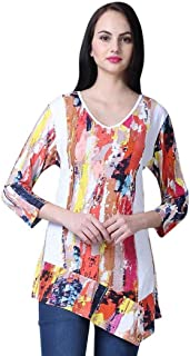 Women's Francine Asymmetric Tunic Top