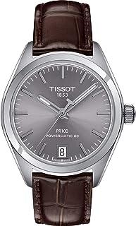 Tissot PR 100 Automatic Rhodium Dial Ladies Watch T101.207.16.071.00