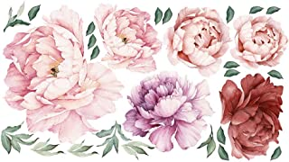 large peony wall decals