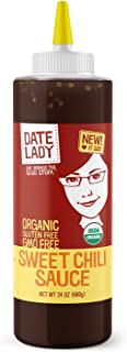 Date Lady Organic Sweet Chili Sauce | No Corn Syrup or Cane Sugar | No Added Flavors or MSG (24 Oz)