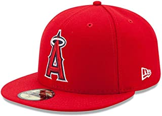 New Era 59FIFTY Los Angeles Angels of Anaheim 2017 Authentic Collection On Field Game Cap Size 7 1/2