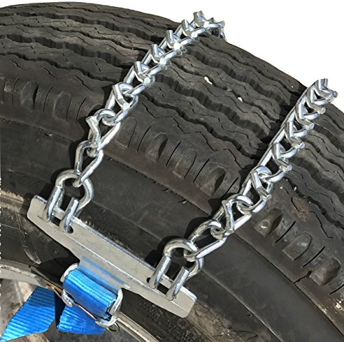 TireChain.com Emergency Strap on Tire Chains for SUV's and Pick-Up Trucks, Priced per Pair