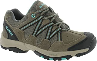 Hi-Tec Womens Florence Low WP Shoes Taupe / Mint 5.5