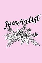 Journalist: Notebook/Journal For Journalist In Pink Colour