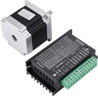 Wendry 3D Printer Stepper Motor, Stepper Motor Driver, Original New Stepper Motor Driver Chip 23HS5628 2.8A Stepper Motor 2 Phase Shaft 8mm + TB6600 Driver