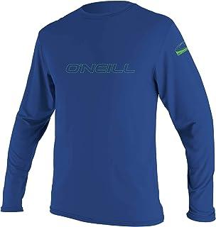 O'Neill Wetsuits Unisex Kids Youth Basic Skins Long Sleeve Sun Shirt Long Sleeve Shirt