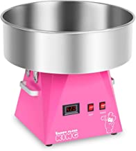 Royal Catering RCZK-1030-W-R Machine a Barbe a PapaProfessionnelle (Ø 52 cm, 1030 W, 1 portion / 30 s, Acier Inoxydable) ...