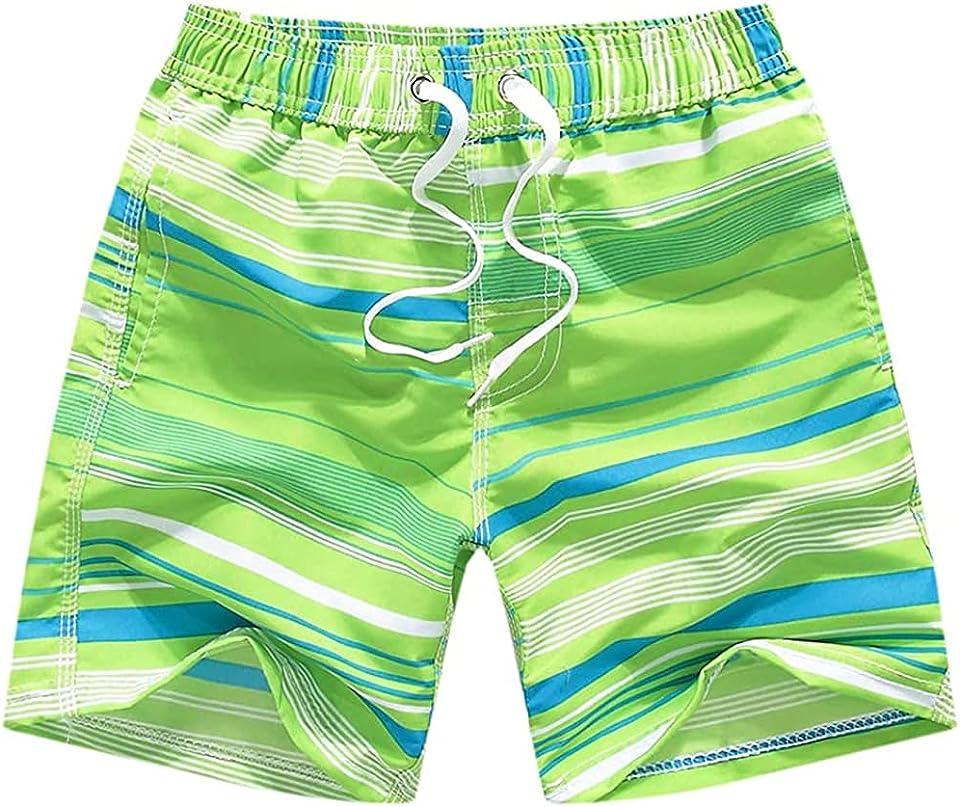 Jungen Badehose Schnell Trocknende Badeshorts Kinder Zugschnur Boardshorts Sport Strand Shorts