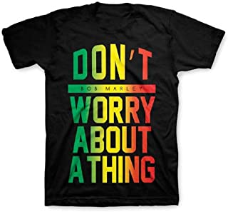 Bob Marley Don't Worry About A Thing Little Boy's T-shirt