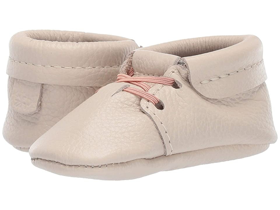 Freshly Picked Soft Sole Oxfords High Tea (Infant/Toddler) (Cream) Kids Shoes