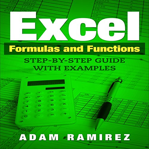 Excel Formulas and Functions audiobook cover art