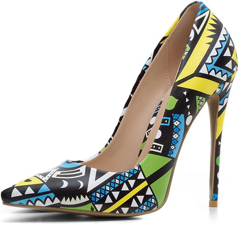 Kaloosh Women's Summer shoes Pointed Toe Thin High Heels Pumps Dress Court shoes