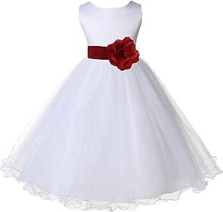 Best wedding dress red white Reviews