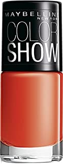 Maybelline New York Color Show Nail Enamel, Orange Fix 214 (6 ml)