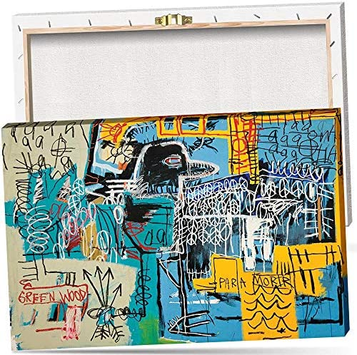Jean Michel Basquiat Bird on Money Graffiti Art Wall Art Artwork Canvas Art HD Print Poster product image