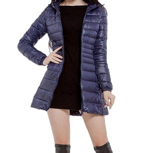 98265bd328a Byste Women Lightweight Winter Slim Cotton Padded Down Jacket