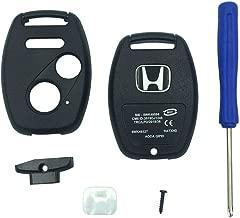 Replacement Keyless Entry Key Fob Case Fit Honda 2003-2007 Accord 2005-2006 CR-V Ridgeline Civic Remote Control Key