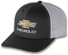 Bundle Includes 1 Hat and 1 Driving Style Decal Gregs Automotive Bowtie Hat Cap Red Compatible with Chevrolet Chevy