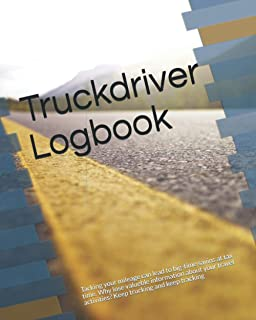 Truckdriver Logbook: Tacking your mileage can lead to big-time savins at tax time. Why lose valueble information about you...