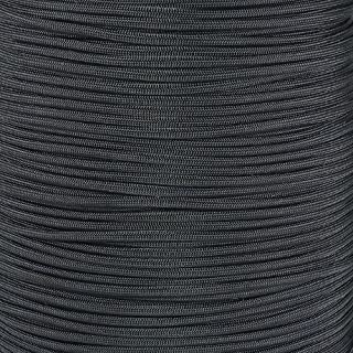PARACORD PLANET Nylon Core 550lb Type III 7 Strand Paracord Made in The U.S.A. Over 200 Colors Available!, 100 Feet, Black