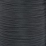 PARACORD PLANET 10 20 25 50 100 Foot Hanks and 250 1000 Foot Spools of Parachute 550 Cord Type III 7 Strand Paracord (Black 100 Feet)