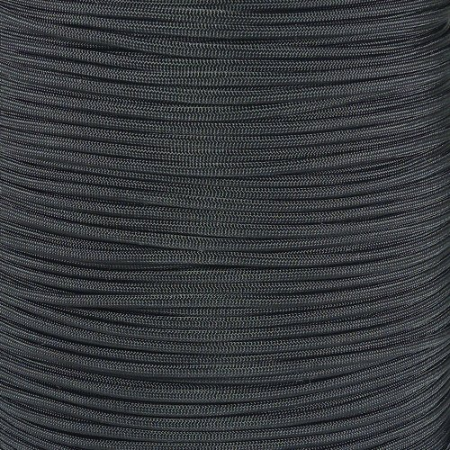 PARACORD PLANET 50#039 Feet of Type III 550 Paracord  Black