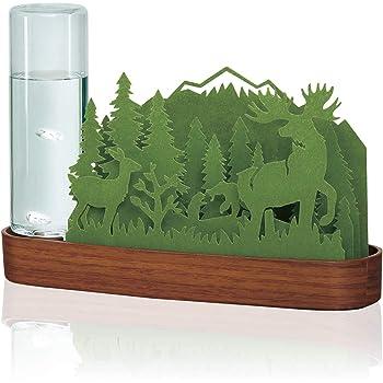 自然気化式加湿器 北欧の森 Forest (Green)