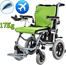 Fully Automatic Intelligent Portable Wheelchair, Folding Lightweight Wheelchair, Electric Wheelchair Folding Elderly Lightweight Scooter, Electric Wheelchair for Family and Outdoor Use