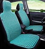 Cubierta de asiento de coche asiento de coche cubiertas de plástico universal de verano cubierta de asiento de silla de auto masaje del amortiguador de la cubierta frontal de plástico del asiento un c