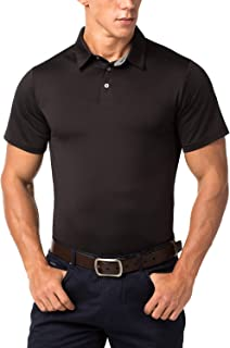 LAPASA Men's Polos Performance Polo Sports Polo Golf Tennis Shirts Quick Dry UPF50+ Polos M49