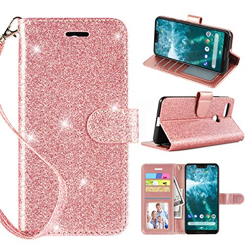 pu leather wallet case for pixel 3 xl