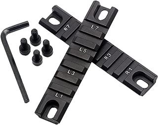 Aimfiree 2pcs Short Picatinny Standard RIS Rail Set for G36 G36C 36 Handguard series