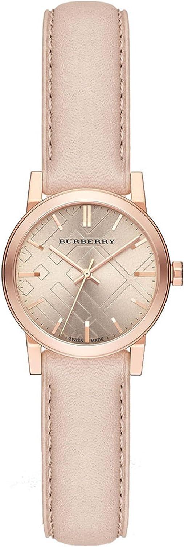 Burberry Reloj de acero inoxidable de tono oro rosa - oro rosa