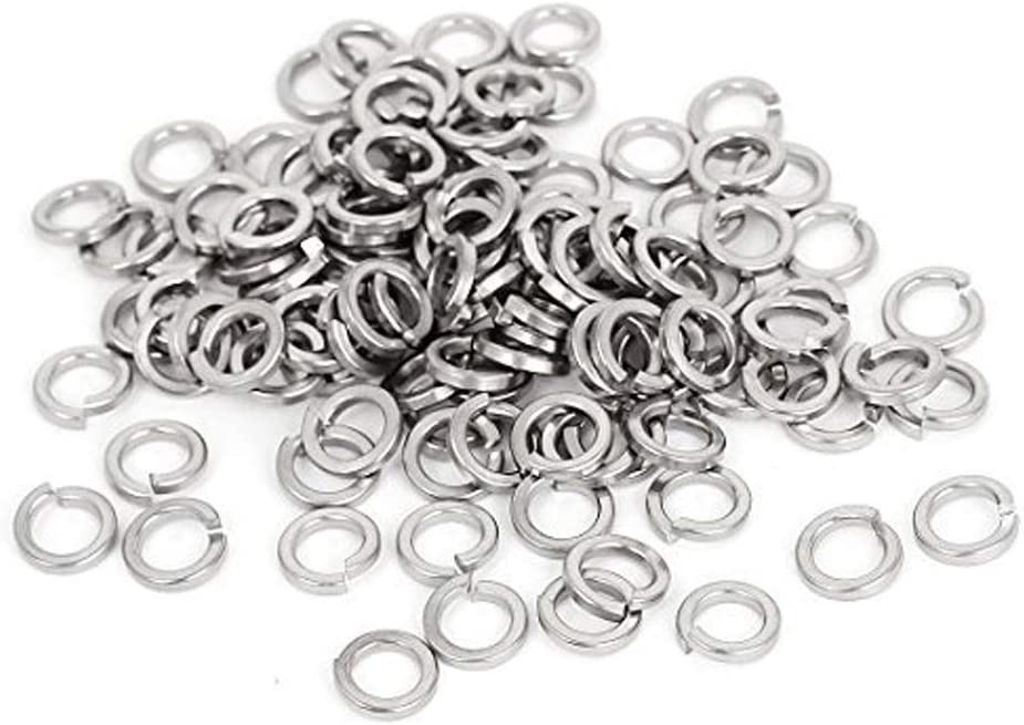 M6 Stainless Flat Spring Lock 5 ☆ very popular Selling and selling Washers 304 18-8 Stee