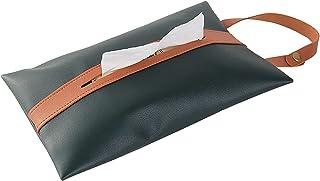Tkaniny do twarzy Box Wiszące Tkanki Tkanki Tkanki Car Tissue Cover Bawełniane Skórzane Skrzynka Nadaje się do różnych okazji