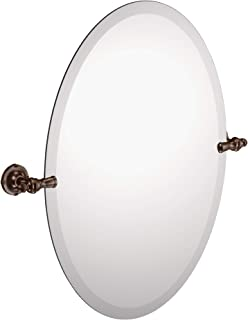 Moen DN0892ORB Gilcrest 26-Inch x 23-Inch Frameless Pivoting Bathroom Tilting Mirror, Oil Rubbed Bronze