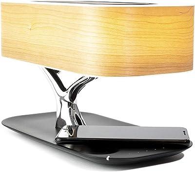 Amazon.com: Ampulla Lámpara de noche con altavoz Bluetooth y ...