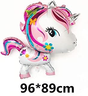 1Pc Baby Shower Unicorn Party Supplies Birthday Party Decorations Adult Happy Birthday Balloon Birthday Party Decorations Kids Baoli