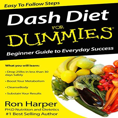 Dash Diet for Dummies cover art