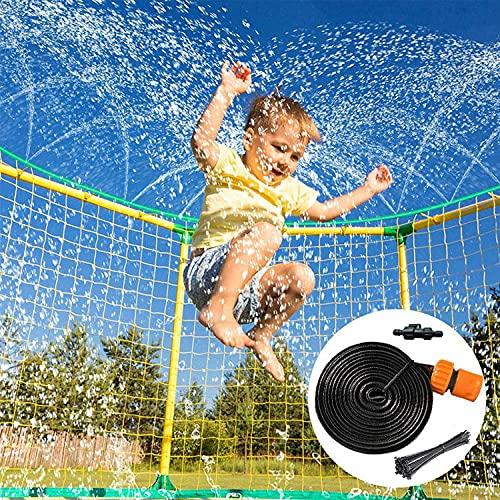ZLGP Aspersor de TrampolíN , DiversióN con Manguera Juego de Agua al Aire Libre de Verano Accesorios para Aspersores TrampolíN Uso de Amplia Gama FáCil Configurar 12m / 39.3ft