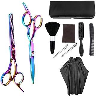 Hair Cutting Scissors Kit Hairdressing Scissors Professional Hairdressing Scissors Kit Hair Cutting Scissors Hairbrush Hai...