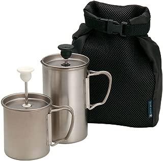 Snow Peak Titanium Cafe Latte Set 3 Cups