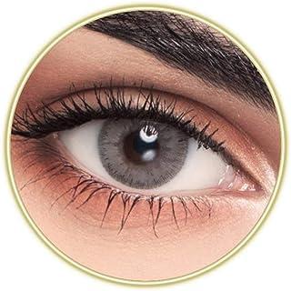 Unisex Contact Lenses, MyLens Capri, Cosmetic Contact Lenses, 6 Months Disposable, Capri (Grey Color)
