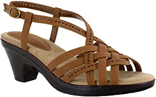 Easy Street Women Sandal,Tan,6.5 M US