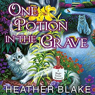 One Potion in the Grave audiobook cover art