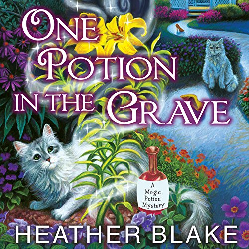 One Potion in the Grave     Magic Potion Mystery, Book 2              By:                                                                                                                                 Heather Blake                               Narrated by:                                                                                                                                 Carla Mercer-Meyer                      Length: 9 hrs and 42 mins     337 ratings     Overall 4.6