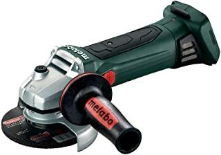 Metabo 125 W 18 LTX 125mm 18V Cordless Power Extreme Grinder Body Only 602174890, 600 W, Green, 1