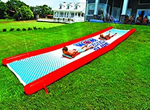 WOW Sports World of Watersports Super Slide l Giant Backyard Waterslide, High Side Walls, Built in Sprinkler, 25 Feet x 6 Feet